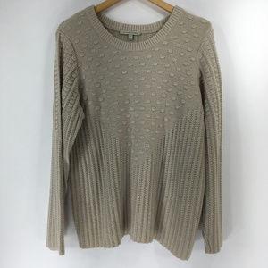 41 Hawthorn Stitchfix 3X Beige Pullover Sweater